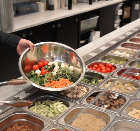 Service salade